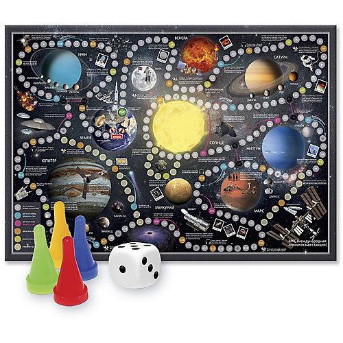 """Игра-ходилка с фишками """"Солнечная система"""" от ГеоДом"""