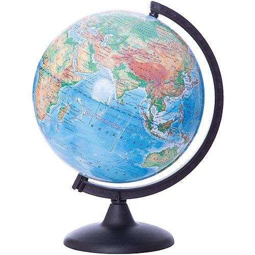 Глобус Земли физический, диаметр 250 мм от Глобусный Мир
