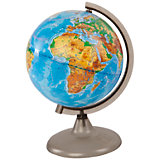 Глобус Земли физический, диаметр 210 мм