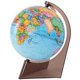 Глобус Земли политический на треугольнике, диаметр 210 мм