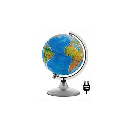 Глобус Земли «Двойная карта» с подсветкой, диаметр 210 мм от Глобусный Мир