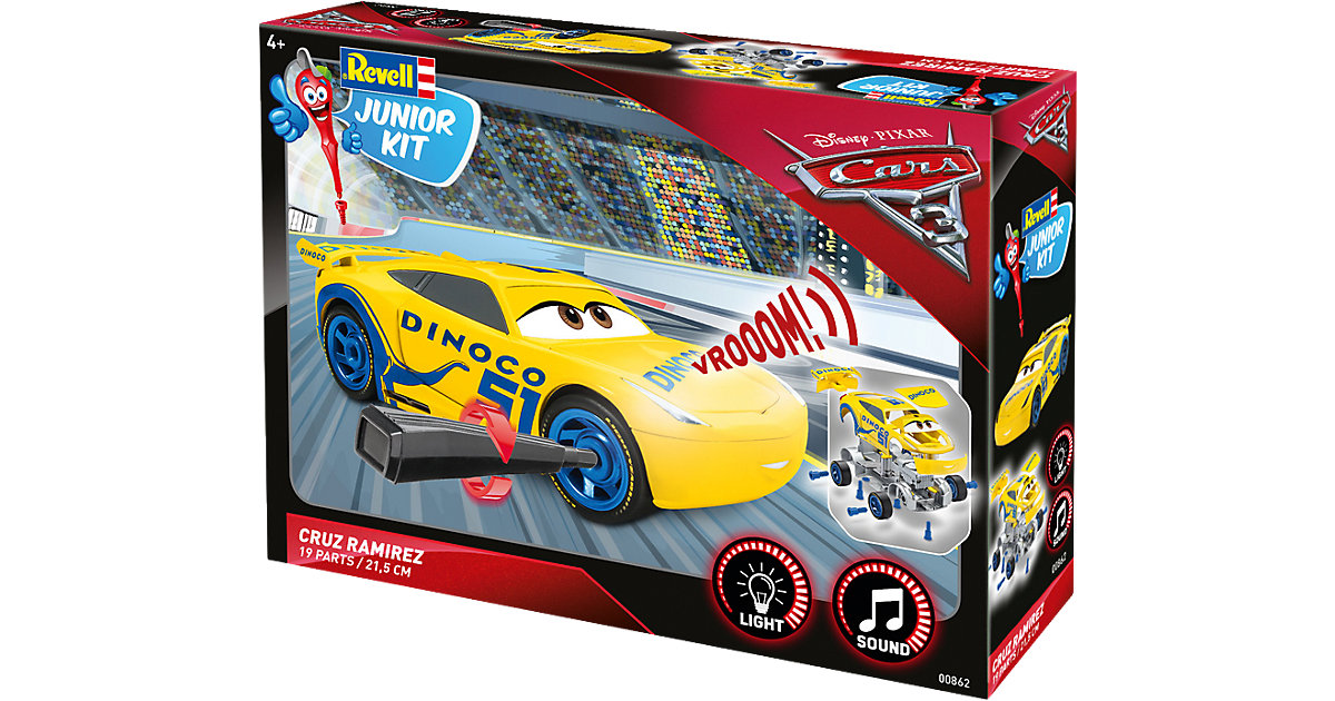 Revell Junior Kit - Cars 3 Cruz Ramirez