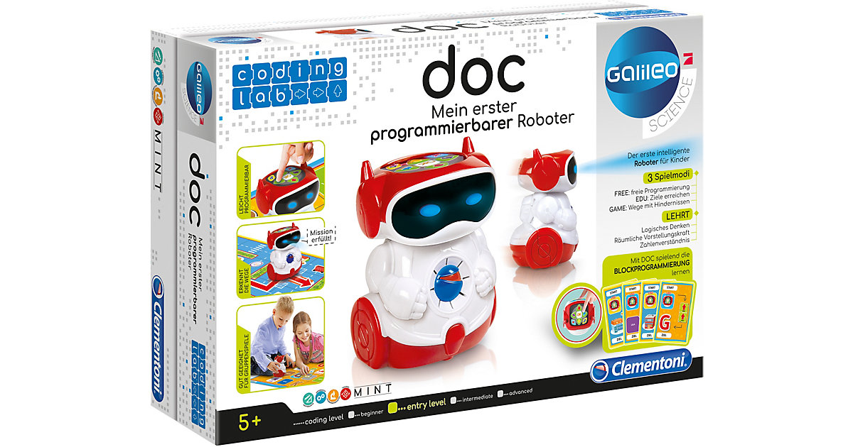 Clementoni · Galileo - DOC Mein erster Roboter