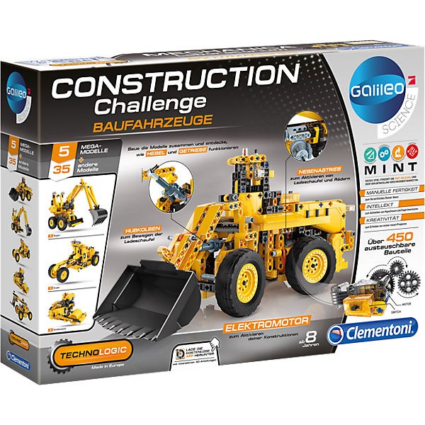 Galileo - Construction Challenge - Baufahrzeuge, Galileo