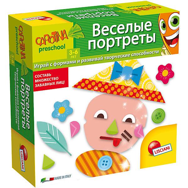 """Обучающая игра """"Веселые портреты"""", Lisciani"""