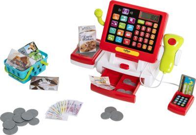 myToys Supermarktkasse mit Touchscreen inkl. Zubehör, myToys
