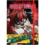 Записная книжка, 96 листов, линейка, LEGO