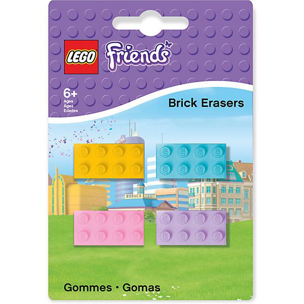 Набор ластиков, 4 шт., LEGO