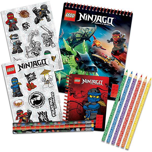Набор канцелярских принадлежностей, 13 шт. в комплекте, LEGO