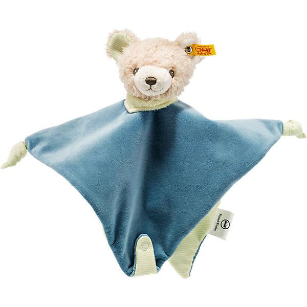Friend-Finder Teddybär-Schmusetuch, 28 cm, Steiff