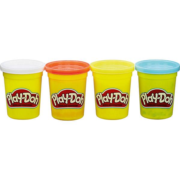 Набор из 4 баночек , B5517/B6508, Play-Doh, Hasbro