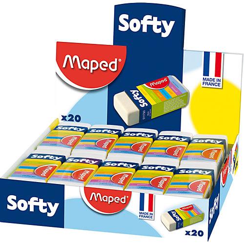 Ластик SOFTY мягкий, в футляре, MAPED от Maped