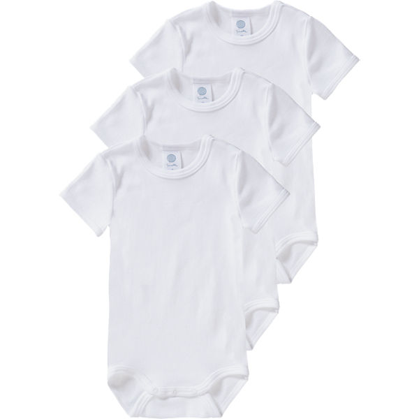 3er-Pack Bodys, Organic Cotton