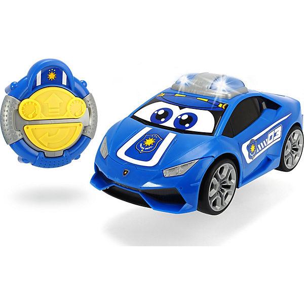 irc happy lamborghini huracan polizeiauto, dickie toys | mytoys
