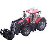 Машинка Bruder Трактор Case IH Optum 300 CVX с погрузчиком