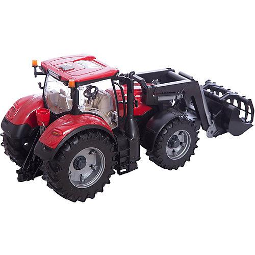 Машинка Bruder Трактор Case IH Optum 300 CVX с погрузчиком от Bruder