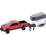 Пикап RAM 2500 c коневозкой и одной лошадкой, Bruder