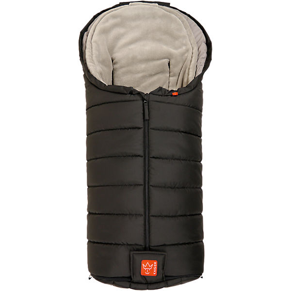 Thermo Fußsack PAUL, 3 in 1, schwarz