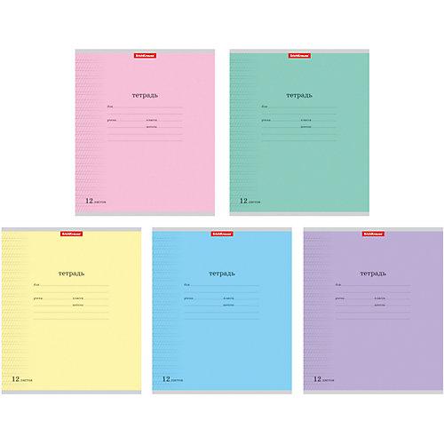 Тетрадь 12 листов линовку, упаковка из 10 шт. от Erich Krause