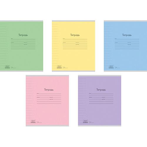 Тетрадь 24 листа , упаковка из 10 шт., линейка от Erich Krause