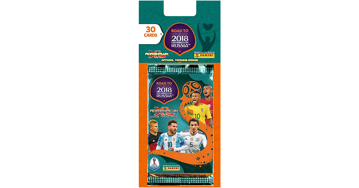 Panini Road to World Cup 2018 5er Blister