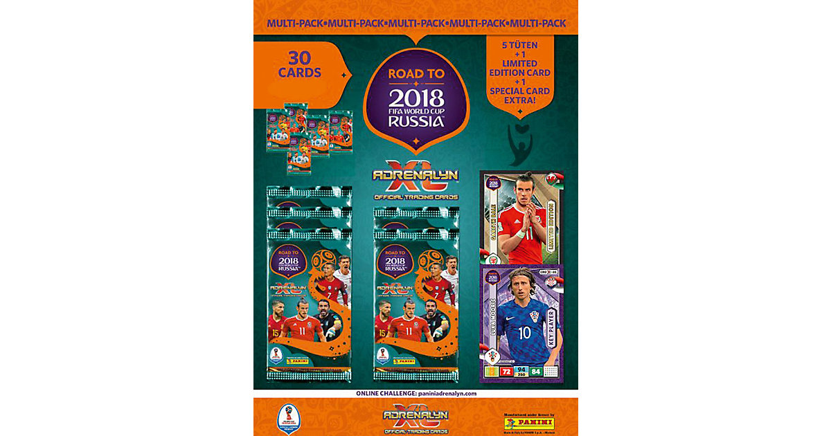 Panini Road to World Cup 2018 Multipack