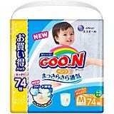 Подгузники-трусики Goon Ultra Jumbo Pack, M 6-12 кг., 74 шт.
