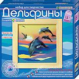 """Набор для изготовления картины """"Дельфины"""""""