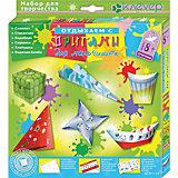 """Набор для изготовления фигурок """"Оригами для мальчишек"""""""