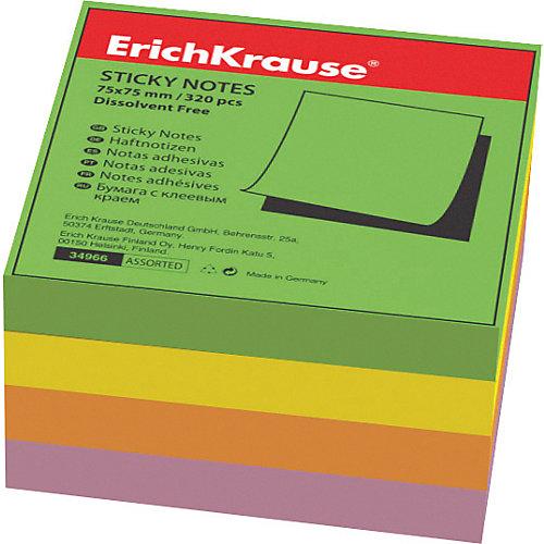 """Блок бумаги с клеевым краем  """"Тропик"""", 75х75мм., Erich Krause от Erich Krause"""