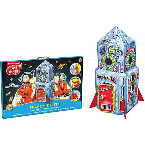 Игровой конструктор для раскрашивания Космический шаттл,  Artberry от Erich Krause от Erich Krause