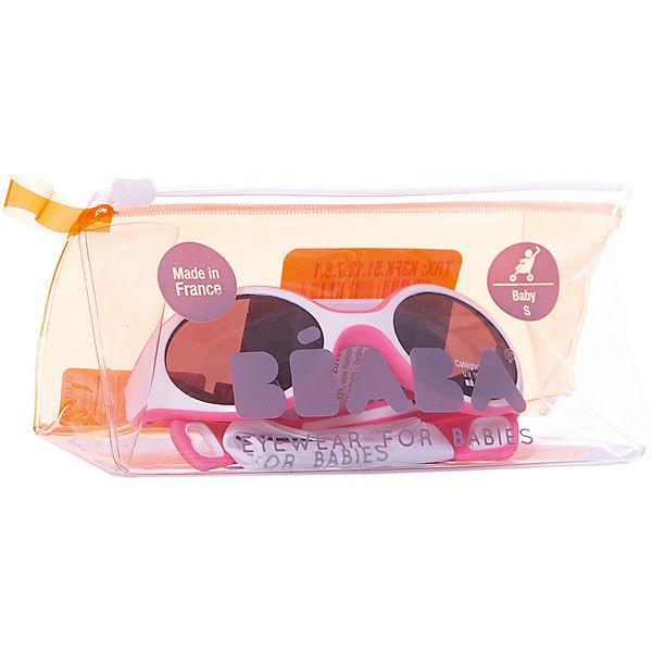 Солнцезащитные очки Sungalesses Baby 360°, р-р S, Beaba, розовый