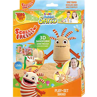 Magic Sand Sorgenfresser Playset
