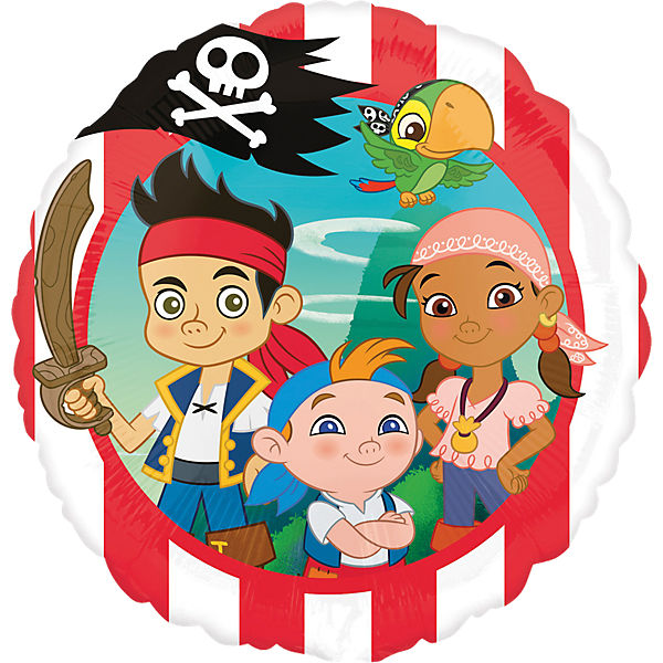 Folienballon Jake & Pirates