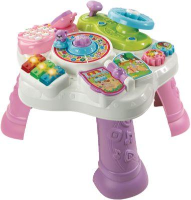 Abenteuer Spieltisch rosa/lila