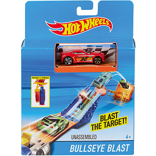 "Автотрек Hot Wheels ""Карманная трасса"" Bullseye Blast"