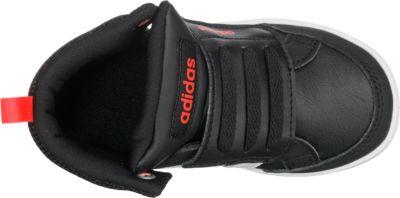 adidas NEO, Baby Sneakers High HOOPS CMF MID, schwarz