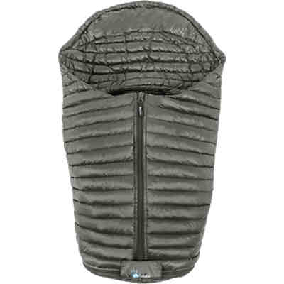 All year footmuff Ultra Light Down Babyschale, grey