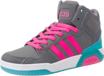 Sneakers High BB9TIS MID für Mädchen, adidas Sport Inspired