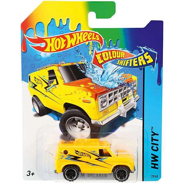 """Меняющая цвет машинка """"COLOR SHIFTERS"""", Hot Wheels"""