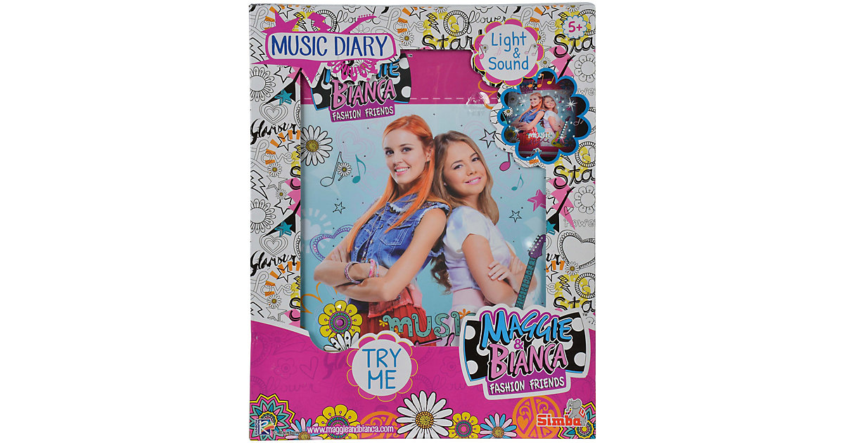 Maggie & Bianca Fashion Friends Musik Tagebuch