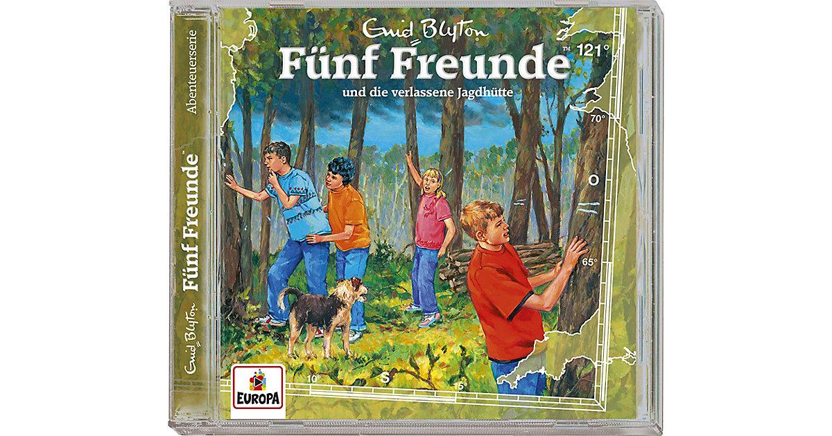 CD Fünf Freunde und die verlassene Jagdhütte Hörbuch