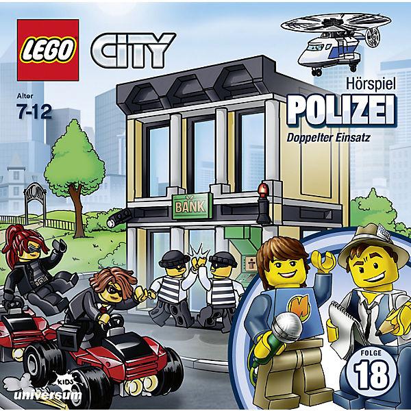 Cd Lego City Polizei Doppelter Einsatz Folge18 Lego Mytoys