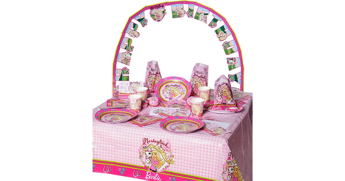 Partyset Barbie, 96-tlg.