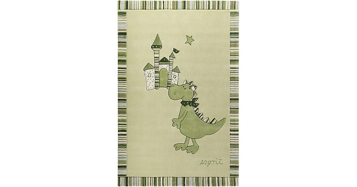 ESPRIT · Kinderzimmerteppich Dragon & Castle Gr. 140 x 200