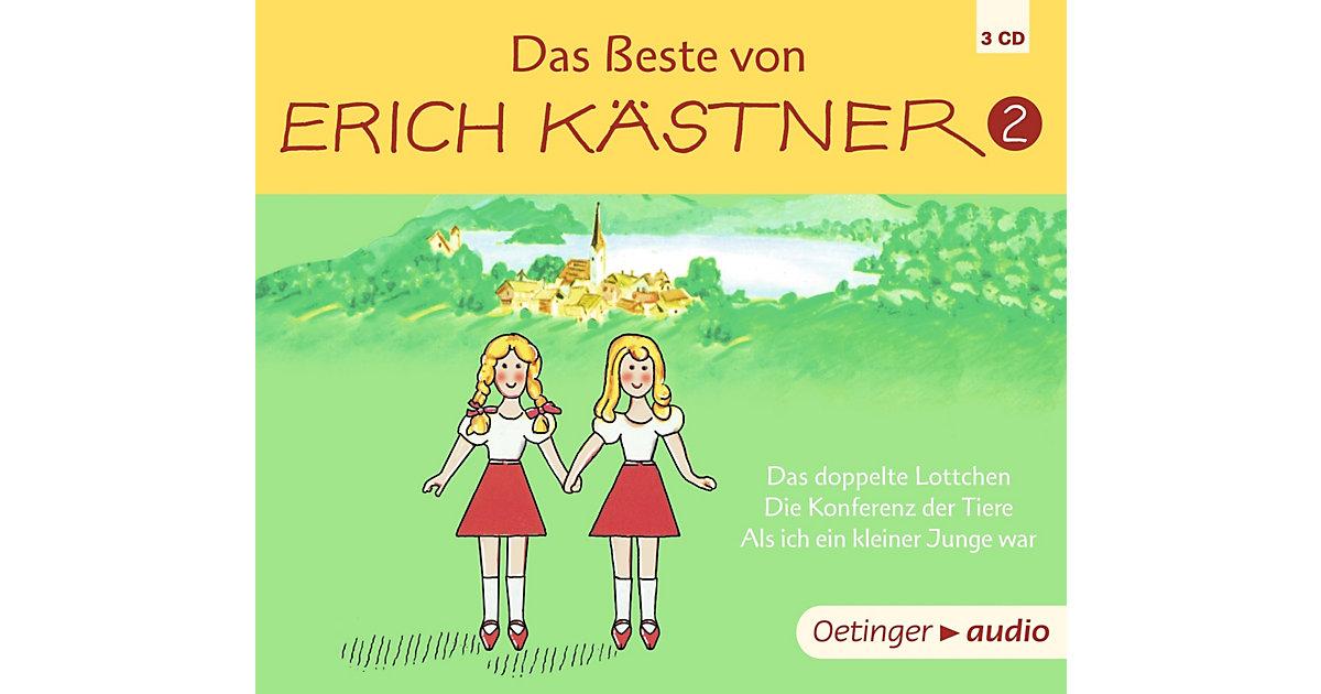 CD Das Beste von Erich Kästner (3 CDs) Hörbuch