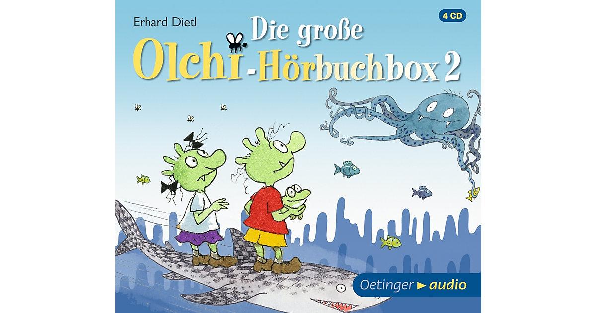 CD Die große Olchi-Hörbuchbox 2 (4 CDs) Hörbuch