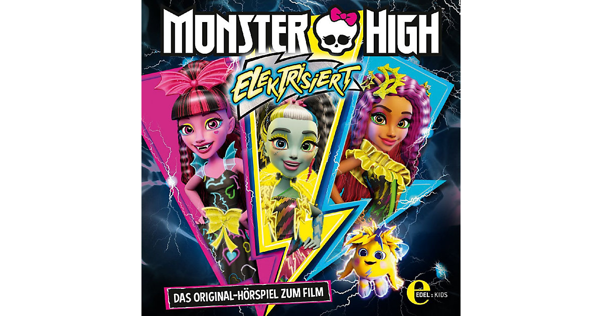 CD Monster High - Elektrisiert
