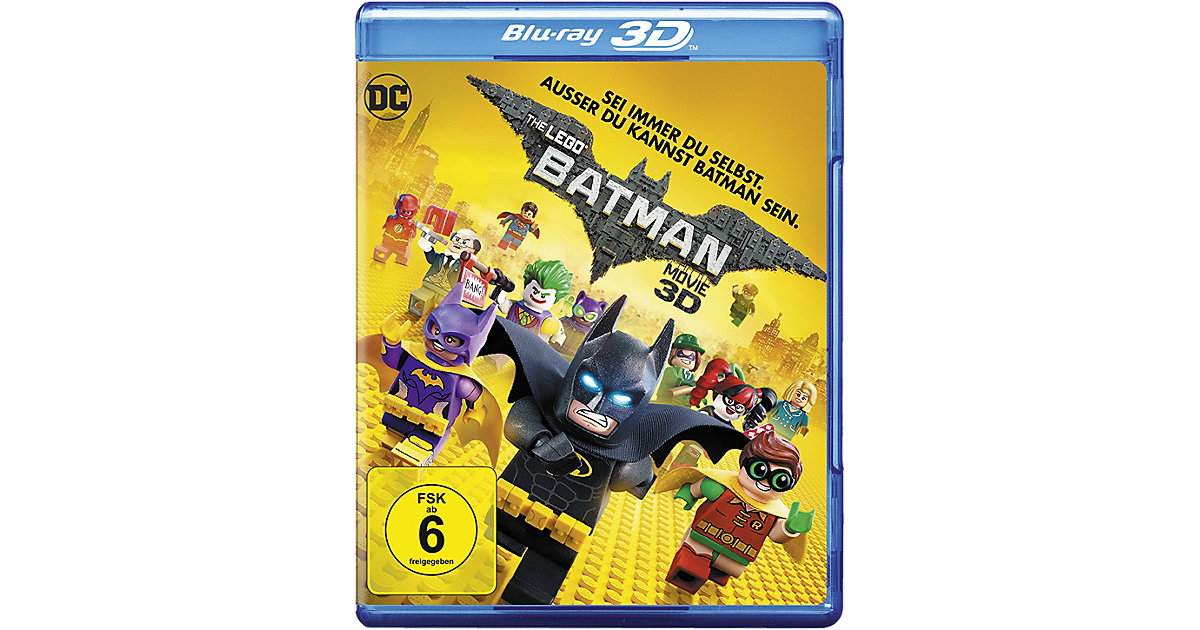 LEGO · BLU-RAY The LEGO Batman Movie 3D