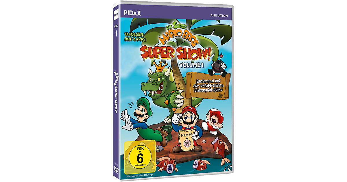 DVD Die Super Mario Bros. Super Show! Vol. 1 (2...